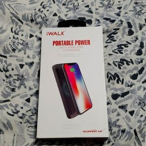 Iwalk portable wireless charger